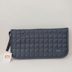 Lug Tango Travel Wallet RFID NWT Grey Organizer